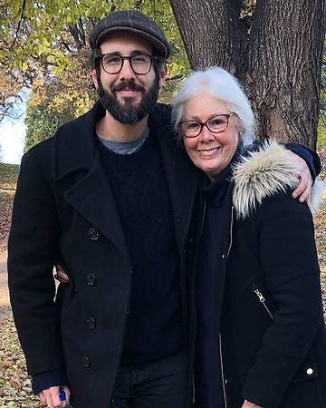 "5/12/19 - joshgroban Verified Happy Mother's Day to this incredible woman. Sounding board, philanthropist, artist...it takes a village but she said ""it's cool I got this"" anyway. My brother and I are the luckiest. Love you mama"