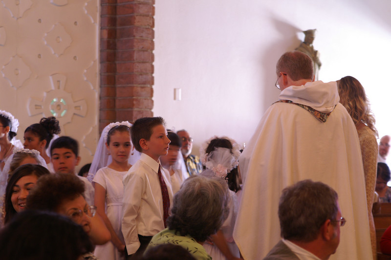 Preparations before Mass