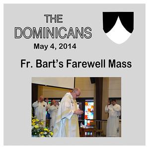 Fr. Bart's Farewell Mass