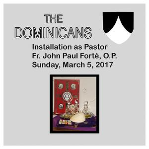 Fr. John Paul's Installation