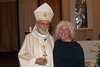 After the April 2012 Confirmation.  Fr. Bart took this photo of me with Bishop Gerald Kicanas.