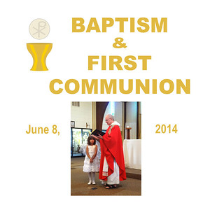 Renee Pederson's Baptism & First Communion