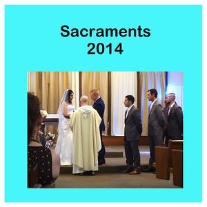 Sacraments 2014