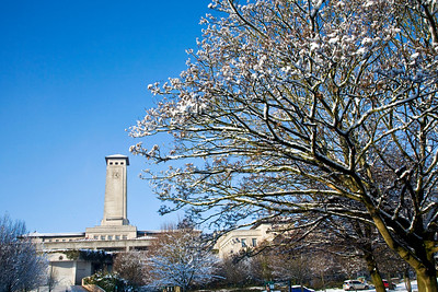 The Civic Centre in Newport, Gwent, South Wales. 9
