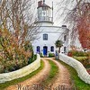 West Usk Lighthouse near Newport in South Wales
