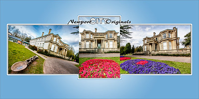 Newport City Originals Triptych Beechwood House
