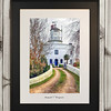 Newport City Originals Framed Photograph East Usk Lighthouse 2