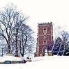 St Woolos Cathedral, Stow Hill Newport, Winter Scene 2