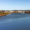Newport Town Centre View from SDR Bridge 1