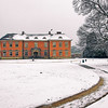 Tredegar House in Newport Gwent Snowfall 01