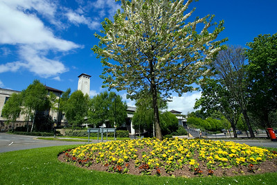 The Civic Centre in Newport, Gwent, South Wales. 1