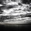 River Severn Estuary Sunrise View 1 B&W