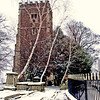 St Woolos Cathedral, Stow Hill Newport, Winter Scene 4
