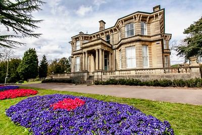 Beechwood House Newport Flower Display 1