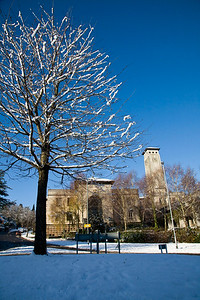 The Civic Centre in Newport, Gwent, South Wales. 7
