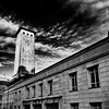 Civic Centre Godfrey Road Newport Gwent Wales 5 B&W