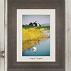 Newport City Originals Framed Photograph East Usk Lighthouse 1