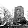 St Woolos Cathedral, Stow Hill Newport, Winter Scene 3