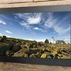 Newport City Originals Framed Photograph East Usk Lighthouse Panorama