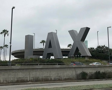 My trips almost always begin from the Los Angeles International Airport.