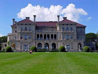 The Vanderbilt's Summer Cottage, The Breakers in Newport, Rhode Island