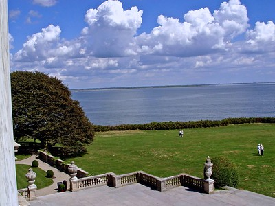 The view from The Breakers in Newport, Rhode Island