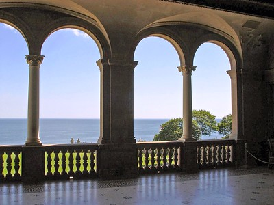 The Breakers A view from Loggia