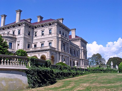 A view of The Breakers in Newport Rhode Island