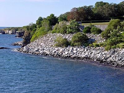 The Cliff Walk at Newport Rhode Island
