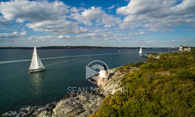 Sailing at Castle Hill