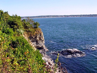 The Cliff Walk in Newport, Rhode Island