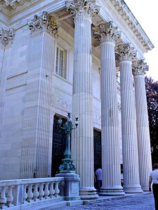 The Vanderbilt's Marble House in Newport, Rhode Island