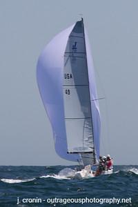 Race #6 1st Downwind, Peter Duncan