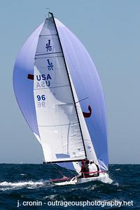 Race #6 2nd Downwind, 2nd place
