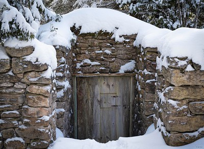 Root Cellar in Winter