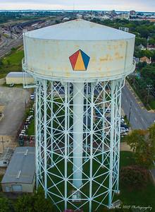 City of Newport News, VA Water Works Water Tower