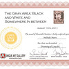 "Win Certficate for ""the Gray Area"" 33"