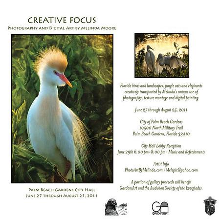 Creative, Focus, Card,