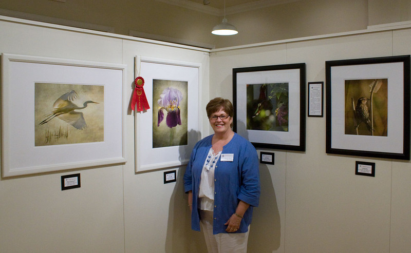 "Exhibit at Southeast Gallery ""Flora and Fauna"" Inner Light took 2nd place"