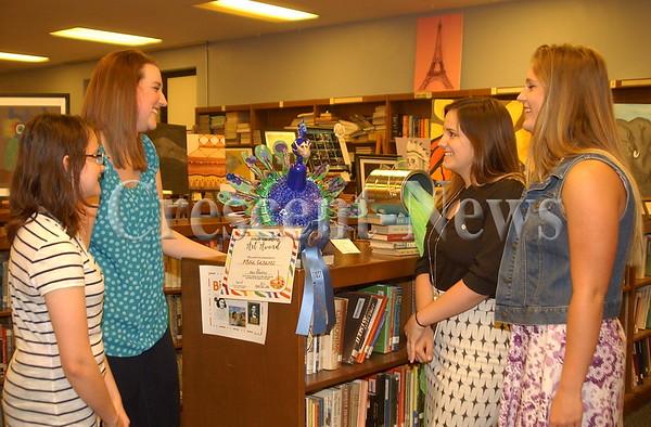 04-21-16 NEWS Ayersville H.S. Art Show