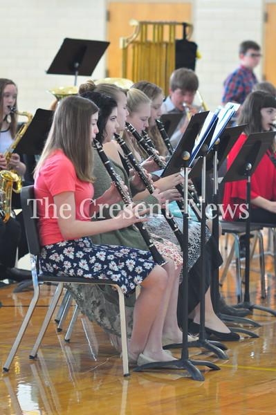 02-26-17 NEWS Ayersville HS Band Concert