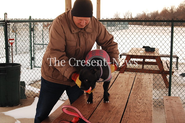 01-13-18 NEWS Exercising Dog at Bark & Run