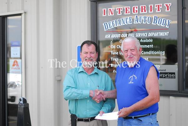 "05-29-18 News Winner of ""B"" prize @ Integrity Auto Body"