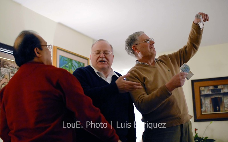 December 1, 2007<br /> <br /> It would be difficult to describe my three uncles with limited text space.  So I won't.  This pic was from a family gathering and once again I was entertained by the three distinct personalities.  I caught this episode although it was hard to be steady with all that laughing.