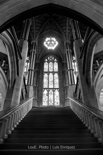 August 19, 2009<br /> <br /> Town Hall<br /> Rochdale, UK<br /> <br /> A major landmark in Rochdale, this building is one of the finest examples of Victorian Gothic revival architecture.  Creatives were limited in the Town Hall as meetings and regular business were being conducted but I was able to get some great shots thanks to one of the staff members who kindly snuck me and Colette around.
