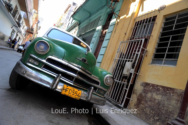 April 17, 2009<br /> <br /> Old Havana and all those cool classic cars!!  I did notice a lot more modern cars this time around in Cuba though and wonder how long before these classics are replaced.  With the optimism of Obama and the possibility of lifting the embargo maybe these cars and photographs will only be a memory.