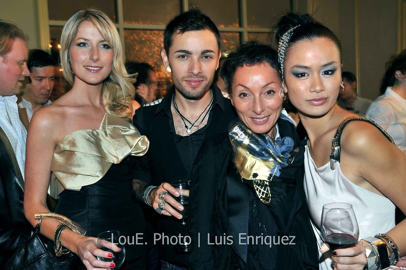"""October 23, 2009<br /> <br /> Lucian Matis<br /> Oasi Restaurant Toronto<br /> Fashion Week<br /> <br /> Great night at the Oasi Restaurant covering the after party for the designer Lucian Matis.  A Candice&Alison production that provided the style and chic to match the latest collection from Lucian Matis.<br /> Thanks to Alison and Candice (pictured here with Lucian and Arline Malakian).<br />  <a href=""""http://www.bizbash.com/toronto/content/editorial/16938_lucian_matis_gets_cirque-inspired_after-party_at_oasi.php"""">http://www.bizbash.com/toronto/content/editorial/16938_lucian_matis_gets_cirque-inspired_after-party_at_oasi.php</a><br />  <a href=""""http://www.candiceandalison.com/LM/candice&alison%20-%20oct%2023%20lucian%20matis%20event%20-%20PHOTO%20GALLERY%20AND%20CREDITS.pdf"""">http://www.candiceandalison.com/LM/candice&alison%20-%20oct%2023%20lucian%20matis%20event%20-%20PHOTO%20GALLERY%20AND%20CREDITS.pdf</a><br />  <a href=""""http://compendiumdaily.wordpress.com/2009/10/25/lg-fashion-week-event-coverage-lucian-matis-after-party/"""">http://compendiumdaily.wordpress.com/2009/10/25/lg-fashion-week-event-coverage-lucian-matis-after-party/</a>"""