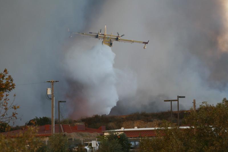 Camp Pendlton Fire 10-08 013