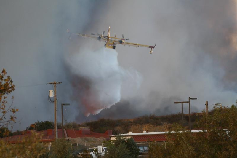 Camp Pendlton Fire 10-08 012