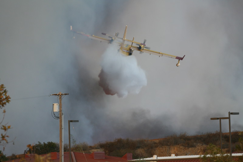 Camp Pendlton Fire 10-08 011